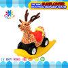 Animal Plastic Seesaw, Plastic Rocking Toy, Plush Animal Rocking Horse (XYH12073-6)