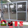 3 Panels UPVC Frame Sliding Glass Door with Double Glazing