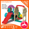 Plastic Slide and Swing Plastic Playground Outdoor for Sale