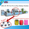 Automatially Non-Woven Fabric Handled Bag Making Machine