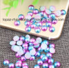 Blueness Acrylic Ab Half Round White&Blue Beads Colorful ABS Pearl for Nail Art Decoration (TP-blueness ab)
