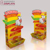 Counter Yellow Wood Essence Seasoning Display Stand