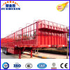 Three Axle Bulk Cargo/Livestock/Poultry/Cattle Transportation Stake Semi-Trailer with Tent