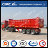 Cimc Huajun 3axle 12000mm Rear Dumping/Tipping Trailer