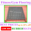 Heavy Duty Gym Center Shockproof Soundproof Rubber Flooring Tile