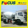 3cum, 4cum LHD and Rhd Foton Mini Mixer Truck for Sale