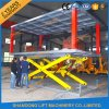 Electric Hydraulic Scissor Car Lift in Ground with TUV