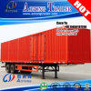 Double Axis 45feet Container Box Van Truck Trailer