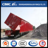 Cimc Huajun 3axle Van/Box Side-Tipping Trailer