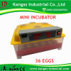 36 Eggs CE Approved Automatic Poultry Egg Incubator