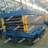 4m Hydraulic Scissor Lift Aerial Working Platform