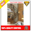 Modern Stainless Steel Wood Spiral Staircases (JBD-S4)