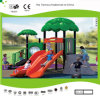 Kaiqi Small Forest Themed Children′s Playground with Slides (KQ30047B)