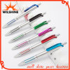 Fashion Design Elegant Click Plastic Ball Point Pen for Promotional Logo (BP1201S)