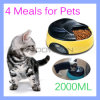 4 Meals Tray Automatic Pet Feeder Electronic Programmable Food Dog Cat Feeder