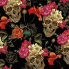 Tsau Top 1 M Width Skull Liquid Image Hydrographic Film