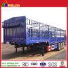 3 Axles 60 Tons Load Gooseneck Type Fence Semi Trailer