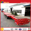 45m 3axles Steering Windmill Blades Transport Semi Truck Extendable Low Bed Trailer