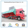 Hydraulic Tipper Side Dumper Trailer with 3 Axles From Supplier