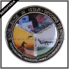 Printed Sticker Challenge Coin for Gifts with Print Logo (BYH-10866)