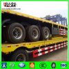 3 Axles 40FT Container Semi Trailer Flatbed Container Trailer