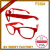 F3394 Funny Square Nerd Sun Glasses with Dark Blue Frame