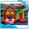 Hot Sale Lion Theme Inflatable Castle Combo with Slide