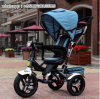 4-in-1 Baby Stroller Kids Tricycle with Roof and Sunshade