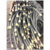 304ss Braided 5/16′′ PTFE Hose 194bar SAE 100r14