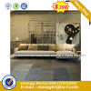 Modern Europe Design Steel Metal Leather Waiting Office Sofa (HX-8NR2093)