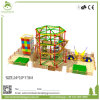 Colorful Overall Design Rainbow Theme Indoor Playground Rope Course