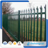 Powder Coated Security Iron Fence / Galvanized Steel Anti-Climb Fencing
