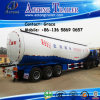 China Manufacturer 3 Axles Powder Material Bulk Cement Transport Tanker Truck Semi-Trailer