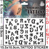 Water Proof Temporary Body Tattoo Sticker (cg016)