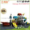 Amusement Equipment Kids Outdoor Playground Slide Pirate Ship Design