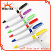 New Plastic White Ballpoint for Promotion Logo (BP0236W)