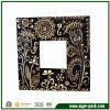 Popular Black Wooden Flower-Patterned Craft Picture Frame
