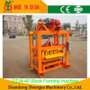Qtj4-40 Manual Concrete Solid Brick Making Machine/Cement Solid Brick Forming Machine