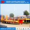 Factory Selliing 2 Axle 45 Tons Low Loader/Lowboy/Lowbed Semi Trailer with Mechanical Ramp
