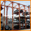 4 Post Multi-Floor Customized Car Stacker Parking System