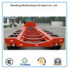 4 Axles Skeleton Trailer Lowbed Semi Itrailer From China Supplier