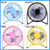 Portable USB Charging Electric Fan Table Desk Fan for 4-Inch Tablet/MacBook/iPad