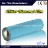 Blue Brilliant Diamond Film, Pearlized Diamond Car Body Vinyl Car Wrap Vinyl Film