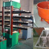 4 Layers Rubber Tile Making Machine