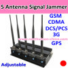 High Quality 5 Antenna GPS Signal Jammer