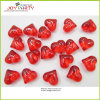 Red Heart Acrylic Ice Cube Table Confetti for Wedding