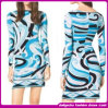 2015 European New Style Ladies Print Dress/Celebrity Dresses (C-181)