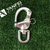 Stainless Steel Snap Shackle with Swivel Eye