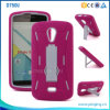 Silicone + PC Hybrid Kickstand Phone Case for Blu Studio X D750u