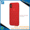 Red Bling Diamond Rhinestone Mobile Phone Case for iPhone 8